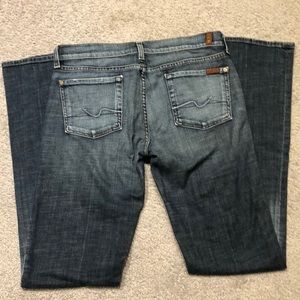 7 for all mankind jeans, size 30